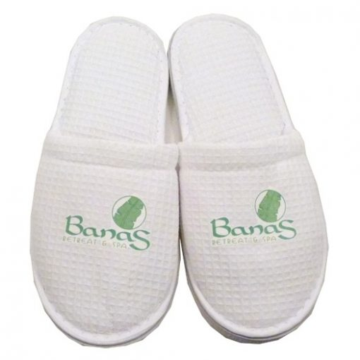 Cotton Waffle Slippers