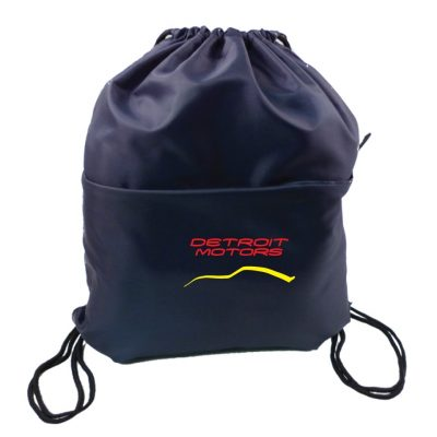 Drawstring Bag w/ Pocket