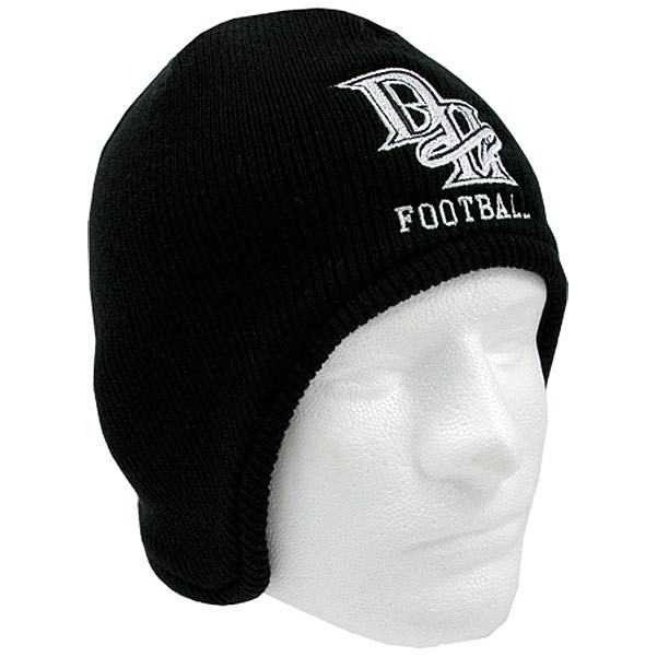 Fleece Lined Acrylic Beanie w/ Flap