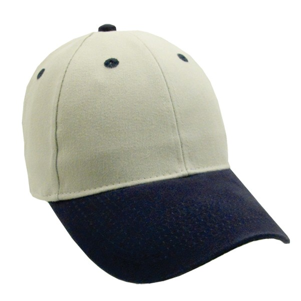 Heavyweight Washed Brushed 2-Tone Twill Cap