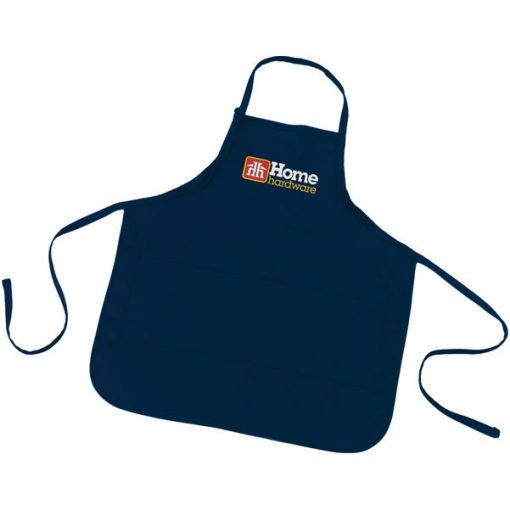Long Cotton Poly Twill Apron/ Large - X-Large