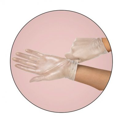 PVC Vinyl Disposable Glove