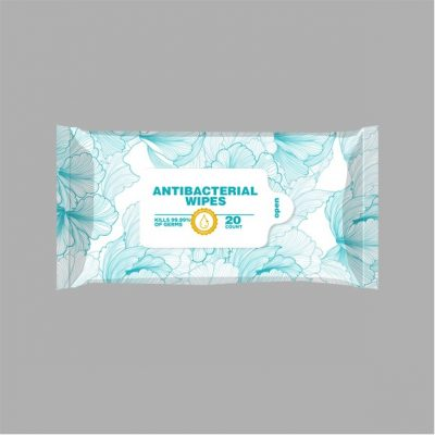 Antibacterial Wet Wipes-20 Count