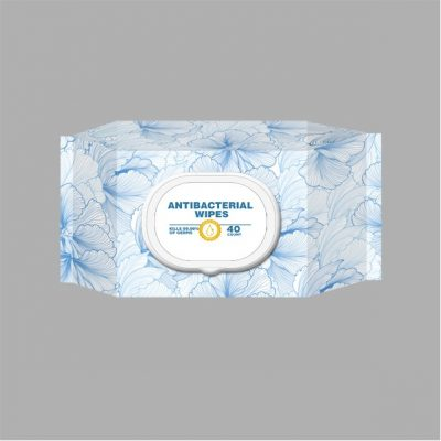 Antibacterial Wet Wipes-40 Count